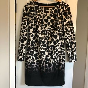 Vince Camuto animal print dress!